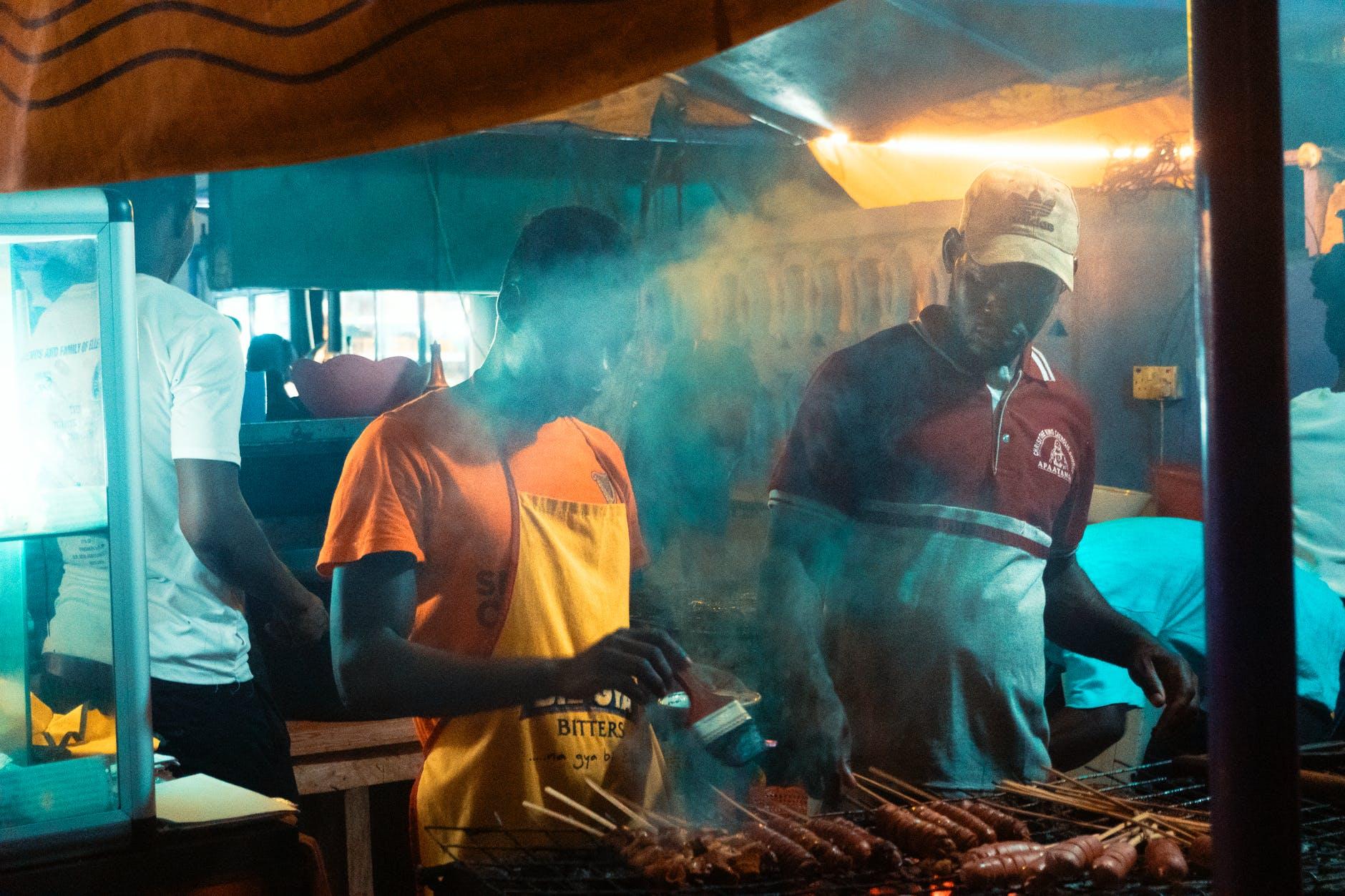 food light man people